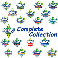 Sims 3 Complete Collection ORIGIN DOWNLOAD (PC&MAC) +All expansion & Stuff packs
