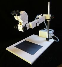 ZEISS BINOCULAR BENCH TOP INDUSTRIAL, RESEARCH AND INSPECTION MICROSCOPE