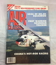 Grumman Tracker Warbird No. 20 Squadron 1984  Air Classics  Magazine  Airplane