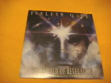 cardsleeve Full CD TWELFTH GATE Threshold Of Revelation PROMO 10TR 2006 heavy