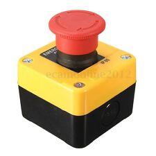 Interruttore 600V 10A Impermeabile Emergenza STOP Pulsante Arresto Segno switch