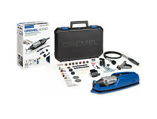 DREMEL 4000-65 ROTARY MULTI TOOL WITH FLEX SHAFT & ACC + FREE 4486 CHUCK