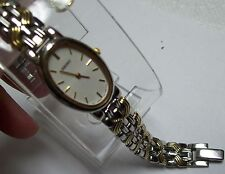 Vintage Two Toned Woven SEIKO Ladies Windup Watch