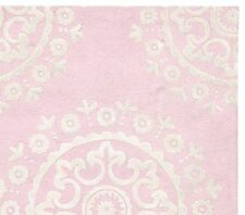 NEW 5X8 Persian Kid's Hand Tufted McKenna Rug - Pink wool area Carpet