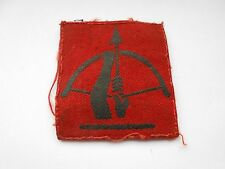 anti aircraft command 1st pattern cloth formation sign military unit patch