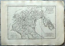 Carte ancienne BONNE antique map 1787 VENISE MANTOUE MODENE Venezia Vicenza 56