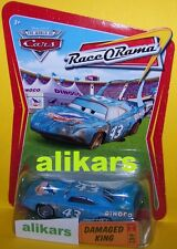 R - DAMAGED KING - #82 Race O Rama Collection ROR series Disney Cars die-cast