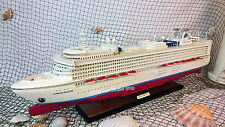 "Sapphire Princess Cruise Ship Model 32"" - Handmade Wooden Model Ship NEW"