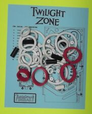 1993 Bally / Midway Twilight Zone pinball rubber ring kit  TZ