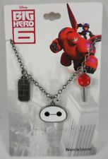 New Disney Big Hero 6 Baymax Quote Charm Pendant Necklace Are You Satisfied Care