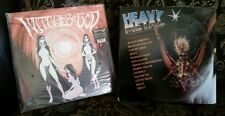 (2) HEAVY METAL ROCK LP RECORD LOT WITCHES OF GOD HEAVY METAL SOUNTRACK