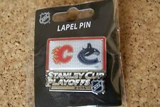 2015 Stanley Cup Playoffs pin NHL SC Calgary Flames vs Vancouver Canucks I