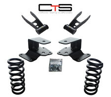 "97-03 Ford F150  3/4"" Lowering Drop Kit Coils 253530 Shackles Hangers suspension"
