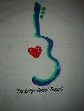 Vintage Concert T-Shirt BRIDGE SCHOOL 86 BRUCE  SPRINGSTEEN TOM PETTY NEIL YOUNG