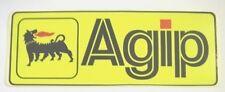 Vecchio Adesivo da Collezione /Old Sticker AGIP MOTO AUTO (cm 11 x 4)