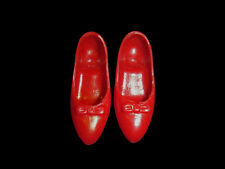 HTF Vintage Tammy Red Squishy JAPAN Low Heels Shoes (A)