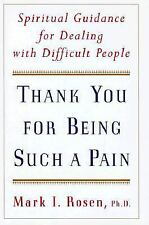Thank You for Being Such a Pain: Spiritual Guidance for Dealing with Difficult P