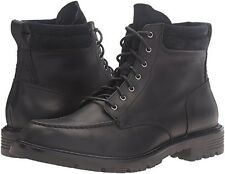 Cole Haan Men's Grantland 6 inch Lace up Ankle Boots Black WATERPROOF 10.5 NEW