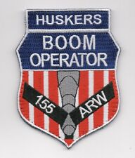 """USAF Patch 173rd AIR REFUELING SQUADRON, KC-135 """"BOOM OPERATOR"""", 4"""" Size"""