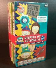 South Park VHS Tapes Vol 7 8 9 Comedy Central Cartman Funny Xmas Gift Mom Slut