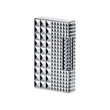S.T. Dupont Ligne 2 Lighter, Iconic Palladium Diamond Head, 16066, New In Box