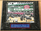 1935 WRIGLEY FIELD CHICAGO CUBS FRAMED 8 X 10 PHOTO PLAQUE-SIGN-MAN CAVE ART