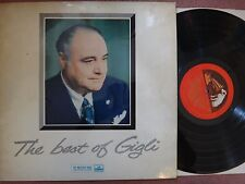 ALP 1681 HMV EMI Red Gold Original BEST OF GIGLI
