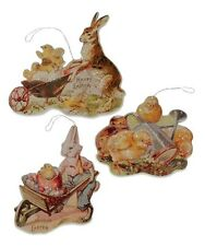Bethany Lowe Easter Spring Farmers Market Bunnies Rabbits Chicks Ornaments New