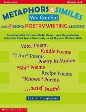 Metaphors And Similes You Can Eat And 12 More Great Poetry Writing  Lesson Prot