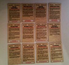 28mm Warhammer Fantasy various magic item cards