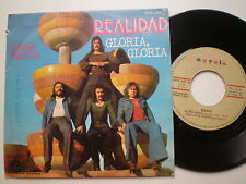 REALIDAD Gloria SPAIN 45 1976 Soft Rock Mellotron