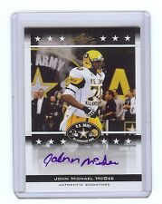 JOHN MICHAEL McGEE Henderson State Reddies - 2012 Leaf Army AUTOGRAPH RC