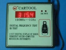 100-1000 MHZ Frequency Display Tester Counter IR Infrared Key Remote Control