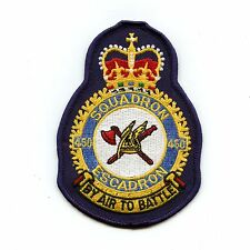 RCAF CAF Canadian 450 Squadron Heraldic Colour Crest Patch