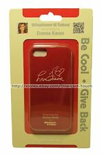 WHATEVER IT TAKES Phone Case DONNA KARAN Premium Gel Shell RED For iPHONE 5