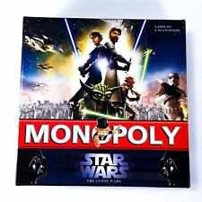 Star Wars Monopoly Game The Clone Wars