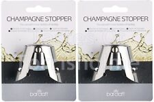 2 x Bar Craft Kitchen Craft Champagne Sparkling Wine Fizzy Drinks Bottle Stopper