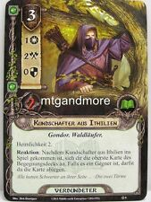 Lord of the Rings LCG  - 1x Kundschafter aus Ithilien  #008 - Die Dunland-Falle