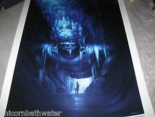 Uncharted 2 3 Ice Temple Limited Edition Official Print Lithograph #245 NUMBERED