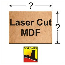 2mm thick MDF Premier Laser Cut bases for DBA DBM 15/ 25mm scale wargames