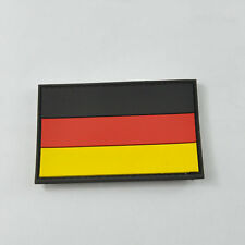 3D Rubber PVC German Flag Patch Moral Military Velcro Patch Tactical SWAT Badge