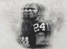 NFL Oakland Raiders Charles Woodson Legends 24x18 Poster Team Spirit Store