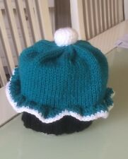 Footy Novelty Beanies -  AFL Colours Cupcake Beanie/Hat - made to order