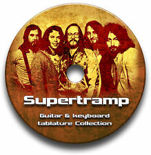 Supertramp rock guitare & clavier onglets tablature song book anthology cd