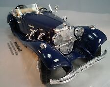 MERCEDES Benz 500 K ROADSTER 1936 Oldtimer 1:20 non 1:18!!! BURAGO IN SCATOLA ORIGINALE