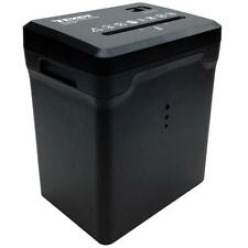 TEXET A4 ELECTRIC DESKTOP PAPER SHREDDER CROSS CUT SHREDDING CARDS DOCUMENTS BIN