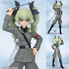 Max factory figFIX 005 Girls und Panzer: Anchovy Action Figure IN STOCK