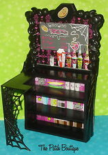 MONSTER HIGH DOLL SIZE FURNITURE COFFIN BEAN SHOP PLAYSET COUNTER SHELF ONLY