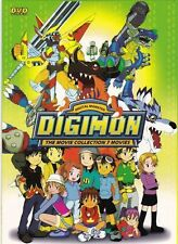 DVD Anime DIGIMON Digital Monster The Movie Collection 7 Movies ( Cant Ver )