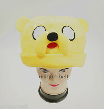 Adventure Time with Finn and Jake New Plush Adult Jake Hat Cap Beanie Costume